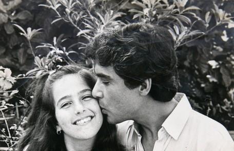 Com 14 anos, ela participou de 'Sol de verão', em que fazia Glorinha, filha de Horácio (Paulo Figueiredo) Reprodução