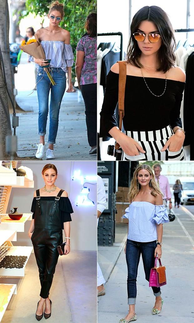 Summer trends: blusas ombro a ombro (Foto: Reprodução/ Pinterest)