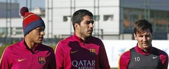 Com classificação encaminhada, Luis Enrique poupa Neymar e Suárez, além de Messi contra o Valencia (Divulgação/Barcelona)