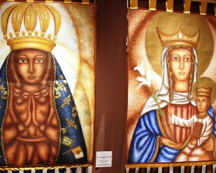 Mostra Maria, discípula Missionária, de Mari Bueno (Foto: Divulgação)