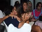 Thammy Miranda e Andressa Ferreira namoram em festa