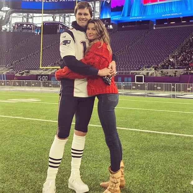 Gisele Bündchen e Tom Brady (Foto: Instagram)