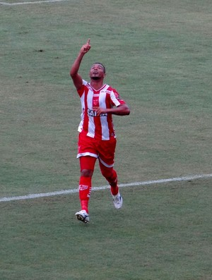 Zé Carlos, atacante CRB (Foto: Leonardo Freire/GloboEsporte.com)