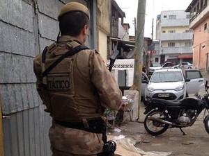 Operação ocorre no Monte Cristo (Foto: Polícia Militar/Divulgação)