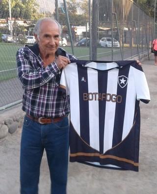 Botafogo chileno (Foto: Thiago Fernandes)