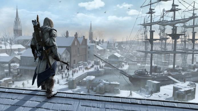 Assassin's Creed 3 traz a história do assassino Connor em meio à Revolução Americana do século XVIII (Foto: Reprodução/Steam)