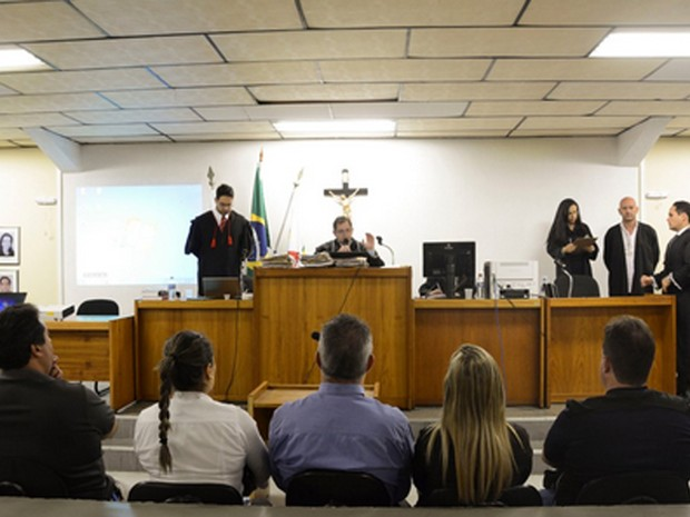 Bola é julgado pela morte de um carcereiro (Foto: Marcelo Albert / TJMG)
