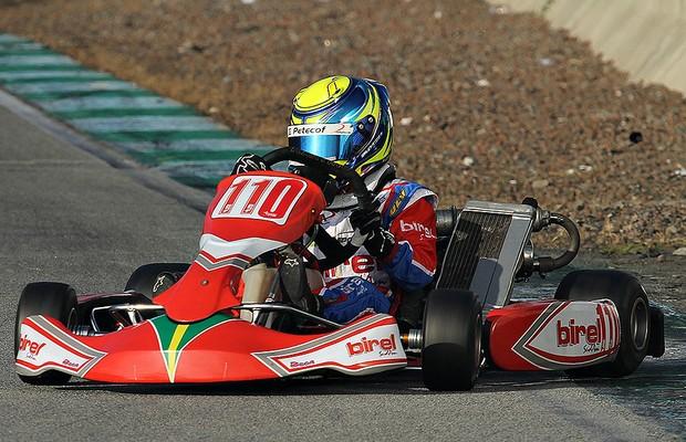 Piloto de kart Gianluca Petecof (Foto: Divulgação)