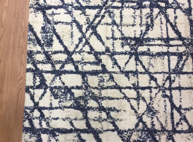 A Avanti apresenta a coleção Arquitetônica, o tapete Renzo é inspirado no arquiteto Renzo Piano. A peça tem 10 mm de espessura, feita 100% náilon e vendido sob medida (Foto: Casa e Jardim)