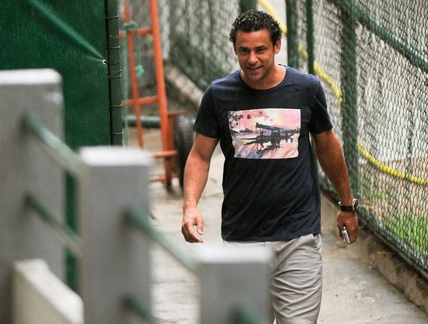 Fred na reapresentação do Fluminense (Foto: Bia Figueiredo / Photocamera)