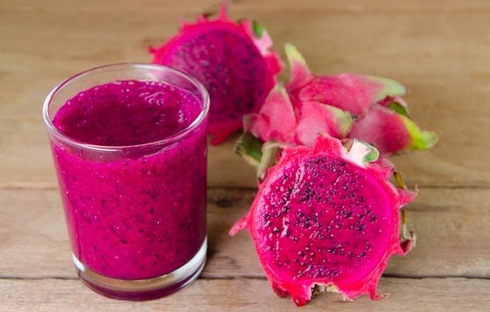Pitaia Ou Fruta Do Dragao Tem Alto Teor De Carboidratos Vitaminas E