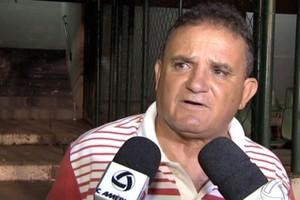 Gilmar não é mais técnico do Palmeiras-MT (Foto: Reprodução/TVCA)