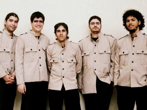 Banda Cavern Beatles, um dos mais atuantes grupos covers de Salvador nos dias atuais (Foto: Peu Coelho/Divulgação)