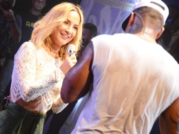 Léo Santana e Claudia Leitte em show em Salvador, na Bahia (Foto: André Carvalho/ Ag. Haack)