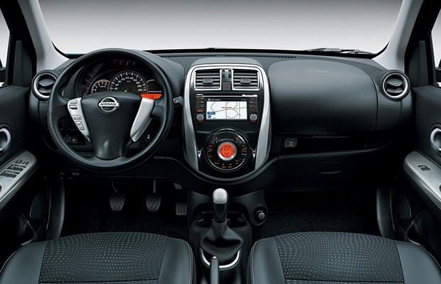 Nissan New March terá tela multimídia, GPS e câmera de ré ...