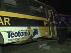 Confirmadas seis mortes na colisão entre ônibus escolares em Alagoas