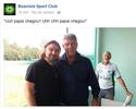 """Em silêncio até então, Boavista posta Joel na internet: """"Uh papai chegou"""""""
