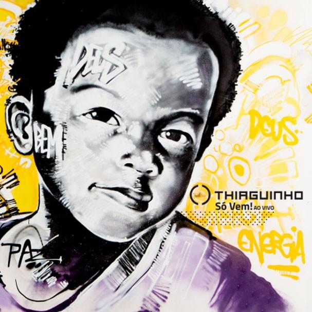 """CD """"Só Vem"""" do cantor Thiaguinho (Foto: Reprodução)"""
