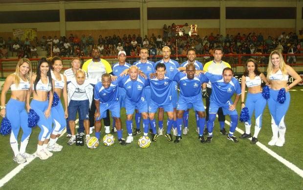 Cruzeiro no showbol (Foto: Ricardo Cassiano/Divulgação)