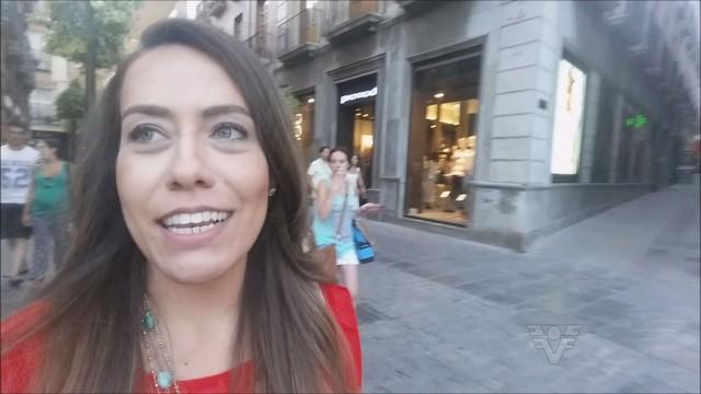 Vivi Pontes no quadro Viver Bem pelo Mundo (Foto: Reprodução/TV Tribuna)
