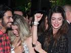 Thaila Ayala e Luma Costa dançam funk em festa no Rio