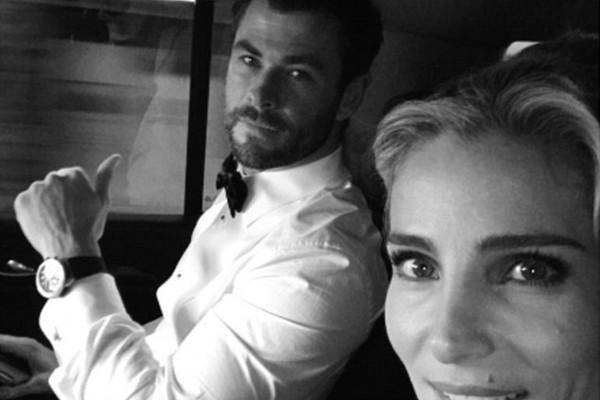 Chris Hemsworth e Elsa Pataky (Foto: Instagram)