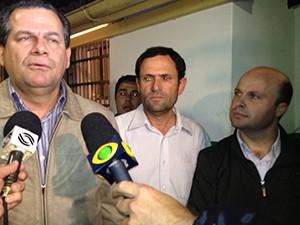 Políticos são soltos nesta sexta-feira (14) (Foto: Sérgio Guimarães)