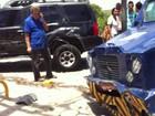Acidente entre cinco veículos deixa dois feridos na área central do Recife