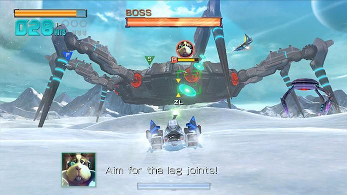 Maioria dos chefões de Star Fox Zero são criativos e divertidos de se enfrentar (Foto: Divulgação/Nintendo)