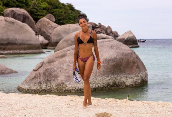 Aline Riscado na Tailândia (Foto: Reprodução/Instagram)