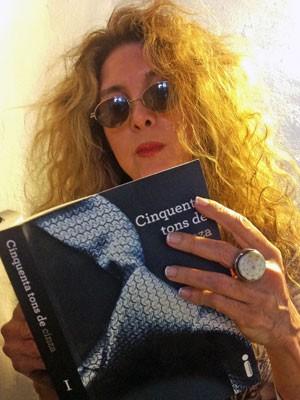 Cantora Wanderlea reprova o best-seller britânico. Ternurinha achou o livro 'careta' demais (Foto: Divulgação)