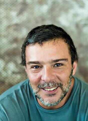 Roberto Scafuro, o terceiro sócio, que fará o contato com os famosos (Foto: Claus Lehmann)