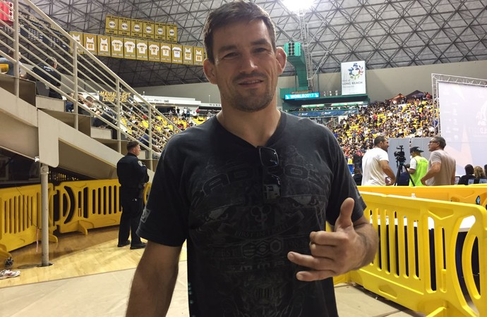 Demian Maia (Foto: Evelyn Rodrigues)
