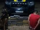 Passageiro é preso ao levar 38 quilos de maconha em ônibus no Piauí