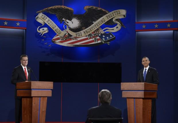 debate nos Estados Unidos (Foto: ShawThew/Efe)