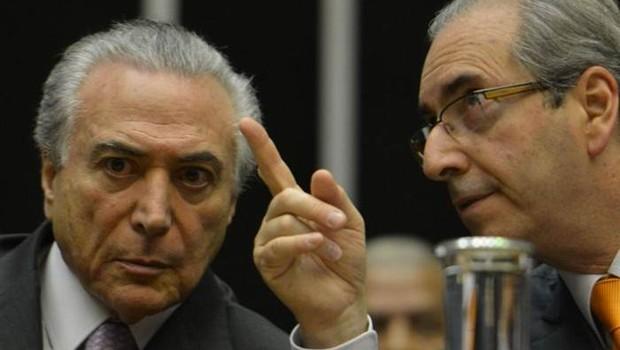 Michel Temer e Eduardo Cunha (Foto: Agência Brasil/Arquivo)