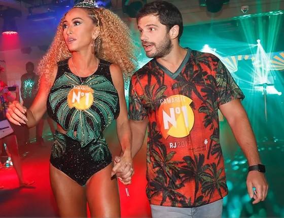 Sabrina Sato e o namorado, Duda Nagle, no Carnaval do Rio (Foto: Divulgação/Camarote N1)