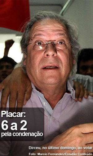 José Dirceu (Foto: Márcio Fernandes/Estadão Conteúdo)