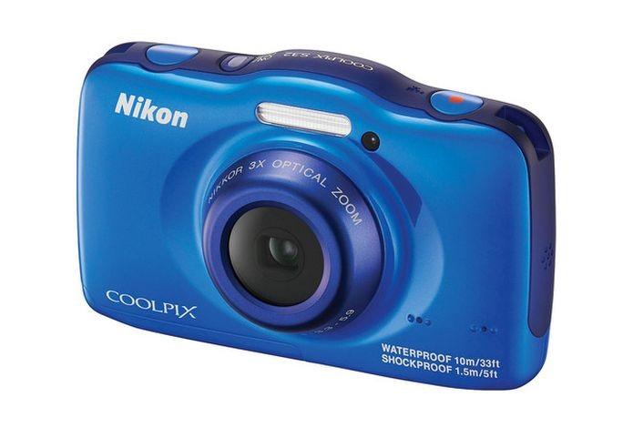 Nikon Coolpix S32 é a câmera resistente ideal para crianças (Foto: Divulgação)
