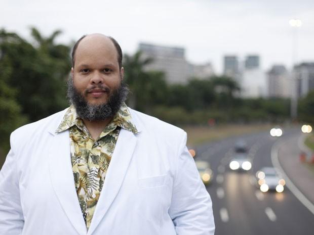 O cantor Ed Motta posa no Rio de Janeiro (Foto: Daryan Dornelles/Divulgação)