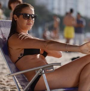 Cheia de projetos, Luana Piovani descarta férias (Raphael Dias/TV Globo)