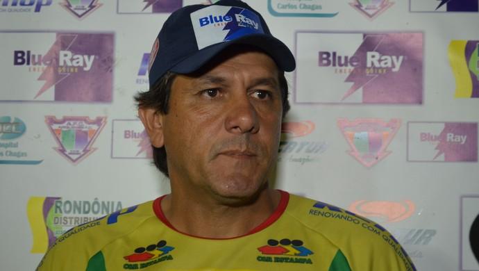 Técnico Júlio César, do Ariquemes (Foto: Eliete Marques)