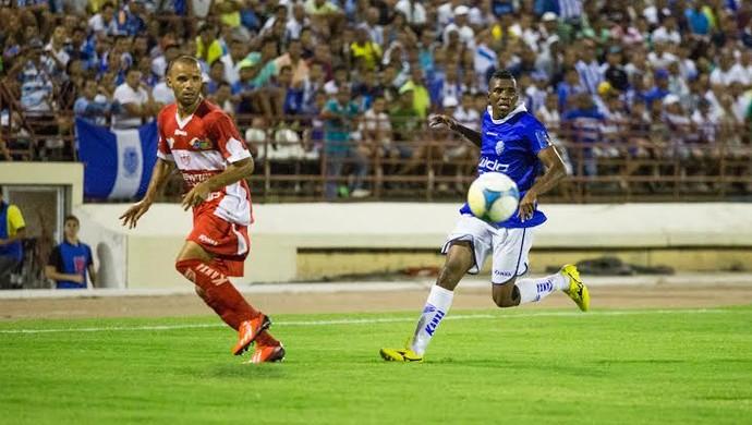 CSA x CRB, no Rei Pelé (Foto: Jonathan Lins/G1)