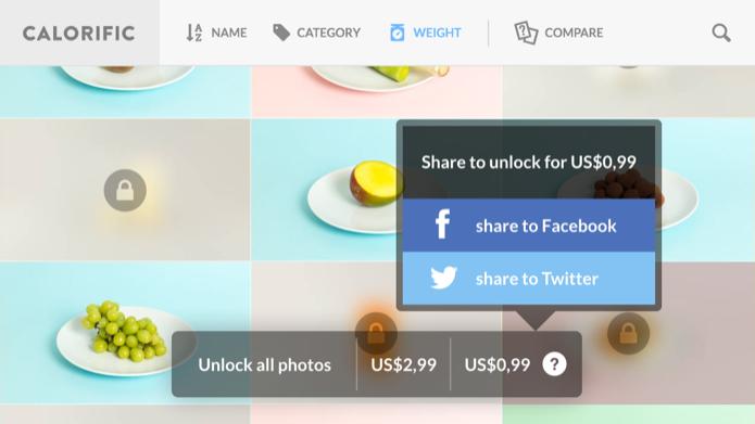 Você pode comprar o aplicativo de duas formas (Foto: Reprodução/Helito Bijora)