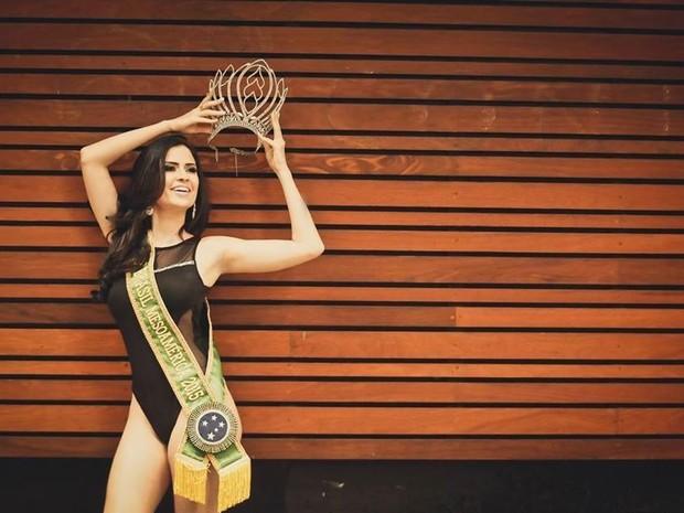 Vanessa está de férias em Miami, mas mora em Teófilo Otoni onde atua como apresentadora de TV. (Foto: Carlos Júnior/Fotografias)