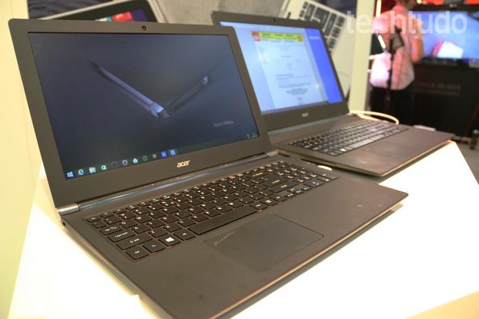 Acer V Nitro Black Edition, notebook demonstrado na IFA 2014 (Foto: Fabricio Vitorino/TechTudo)