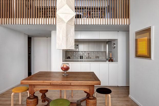 Na reforma surgiu um mezanino - Casa Vogue | Apartamentos