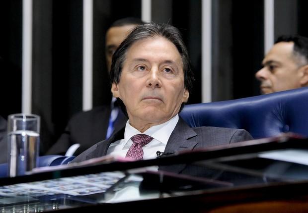 O presidente do Senado, Eunício Oliveira (PMDB-CE) (Foto: Valdemir Barreto/Agência Senado)