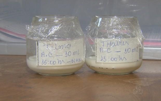O estoque de leite materno está em baixa na maternidade. (Foto: Acre TV)