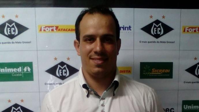 Toninho Pesso, novo treinador do Mixto (Foto: Divulgação/Mixto EC)